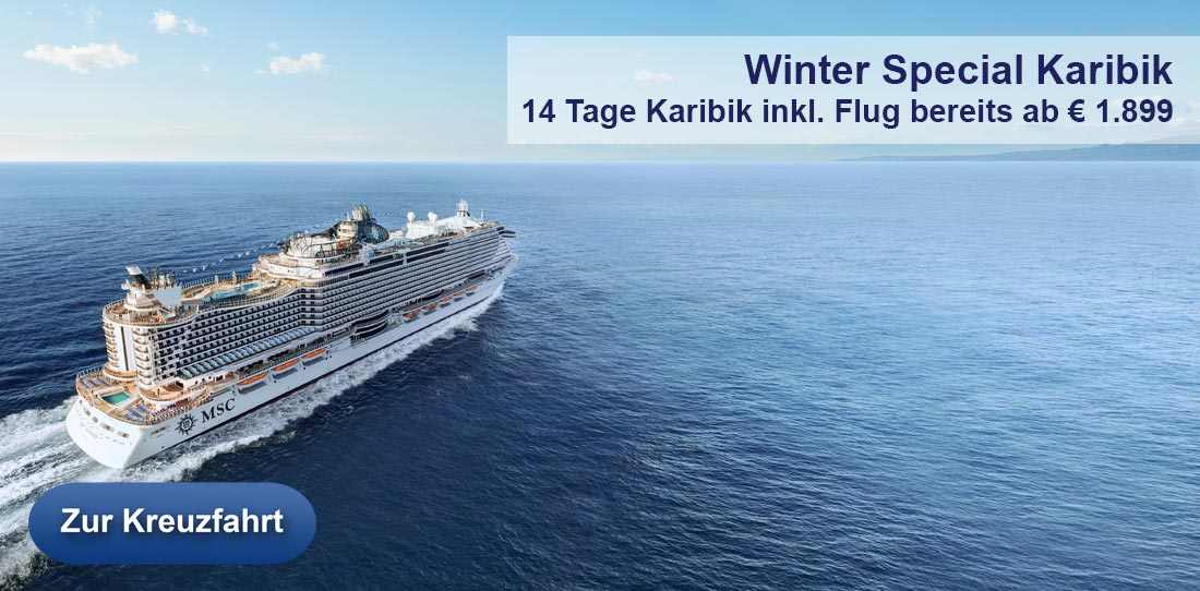 MSC Fly and Cruise Karibik